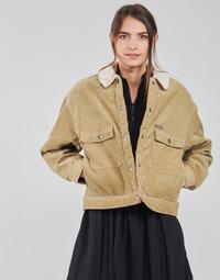 Oblečenie Ženy Saká a blejzre Volcom WEATON JACKET Béžová