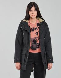 Oblečenie Ženy Parky Volcom WALK ON BY 5K PARKA Čierna