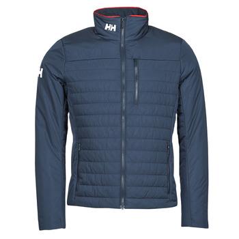 Oblečenie Muži Bundy  Helly Hansen CREW INSULATOR JACKET 2.0 Námornícka modrá