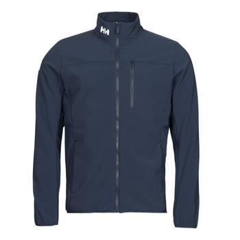 Oblečenie Muži Bundy  Helly Hansen CREW SOFTSHELL JACKET 2.1 Námornícka modrá