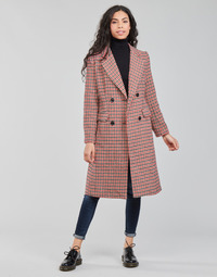 Oblečenie Ženy Kabáty Betty London PIVENE Čierna / Červená