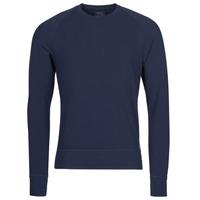 Oblečenie Muži Tričká s dlhým rukávom Polo Ralph Lauren LS CREW SLEEP TOP Námornícka modrá