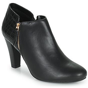 Topánky Ženy Nízke čižmy Moony Mood PERRINE Čierna