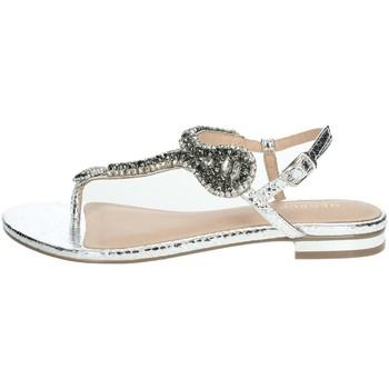 Topánky Ženy Sandále Menbur 22345 Silver