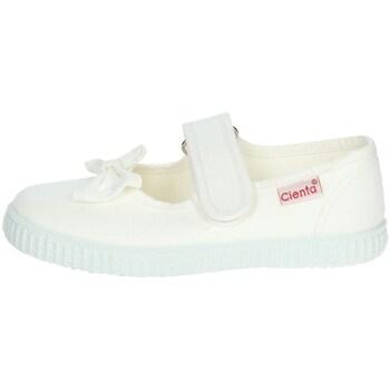Topánky Dievčatá Balerínky a babies Cienta 56060 White