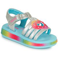 Topánky Dievčatá Sandále Skechers SUNSHINES/FAIRY HEARTS Viacfarebná
