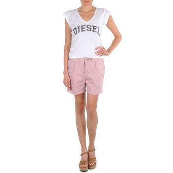 Oblečenie Ženy Šortky a bermudy Diesel HANTU Ružová