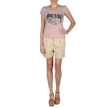 Oblečenie Ženy Šortky a bermudy Diesel HANTU Béžová