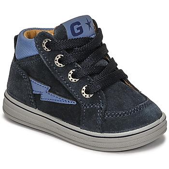 Topánky Chlapci Členkové tenisky Citrouille et Compagnie PALLA Námornícka modrá