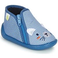 Topánky Chlapci Papuče Citrouille et Compagnie PASTA Modrá