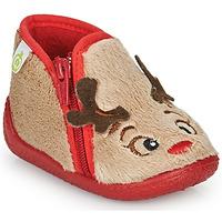 Topánky Deti Papuče Citrouille et Compagnie PARFALLE Béžová