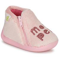 Topánky Dievčatá Papuče Citrouille et Compagnie PRADS Ružová