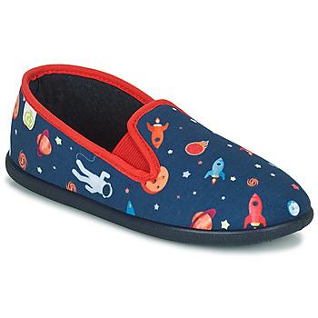 Topánky Chlapci Papuče Citrouille et Compagnie PAKITEL Námornícka modrá