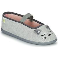 Topánky Dievčatá Papuče Citrouille et Compagnie PASTALDENTE Šedá / Ružová