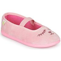 Topánky Dievčatá Papuče Citrouille et Compagnie PIDDI Ružová
