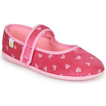 Topánky Dievčatá Papuče Citrouille et Compagnie PIWOINE Fuksiová