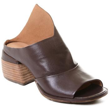 Topánky Ženy Čižmičky Rebecca White T0403 |Rebecca White| D??msk?? mokas??ny z telec?? k??e v k??vov?? bar