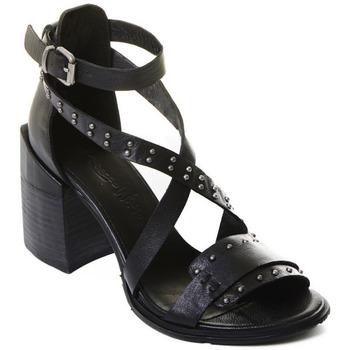 Topánky Ženy Lodičky Rebecca White T0501 |Rebecca White| D??msk?? sand??ly na vysok??m podpatku z ?ern??
