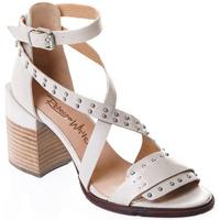 Topánky Ženy Lodičky Rebecca White T0501 |Rebecca White| D??msk?? sand??ly na vysok??m podpatku z telec??