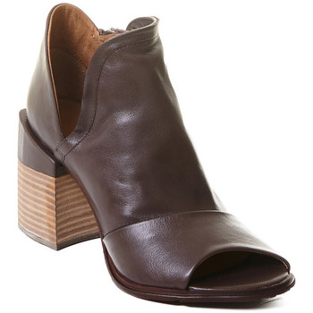 Topánky Ženy Čižmičky Rebecca White T0504 |Rebecca White| D??msk?? kotn??kov?? boty z telec?? k??e v k??vo