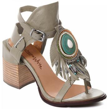 Topánky Ženy Lodičky Rebecca White T0509 |Rebecca White| D??msk?? sand??ly na vysok??m podpatku z hov??z?