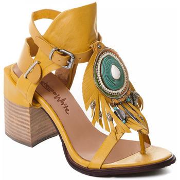 Topánky Ženy Lodičky Rebecca White T0509 |Rebecca White| D??msk?? sand??ly na vysok??m podpatku z okrov??