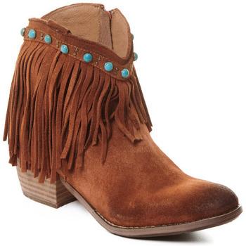 Topánky Ženy Čižmičky Rebecca White T0601A |Rebecca White| D??msk?? ko?en?? kotn??kov?? boty s podpatkem v