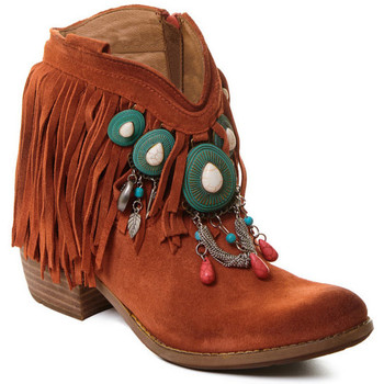 Topánky Ženy Čižmičky Rebecca White T0601B |Rebecca White| D??msk?? ko?en?? kotn??kov?? boty s kor??lovou k