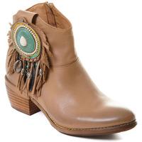 Topánky Ženy Čižmičky Rebecca White T0605 |Rebecca White| D??msk?? ko?en?? kotn??kov?? boty s blokov?m pod