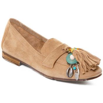 Topánky Ženy Mokasíny Rebecca White T3506 Hnedá