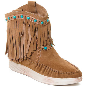Topánky Ženy Čižmičky Rebecca White T6016 Hnedá