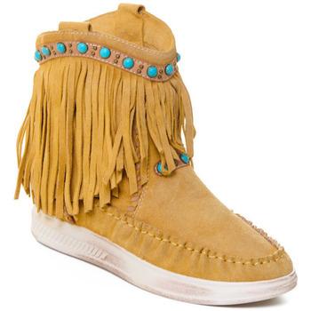 Topánky Ženy Čižmičky Rebecca White T6016 Žltá