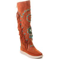 Topánky Ženy Čižmy Rebecca White T6012 Červená