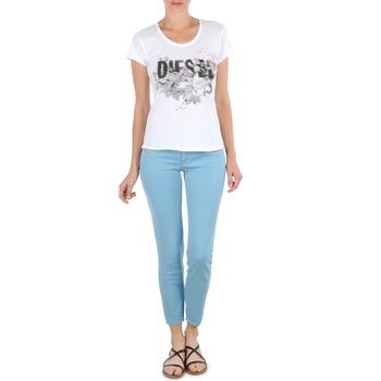 Oblečenie Ženy Nohavice 7/8 a 3/4 Diesel LIVIER-ANKLE Modrá