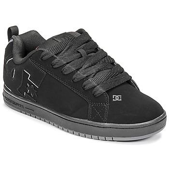 Topánky Muži Skate obuv DC Shoes COURT GRAFFIK Čierna / Červená