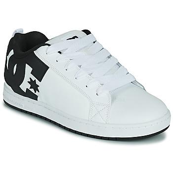 Topánky Muži Skate obuv DC Shoes COURT GRAFFIK Biela / Čierna