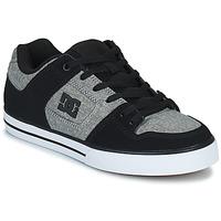 Topánky Muži Skate obuv DC Shoes PURE Šedá / Čierna
