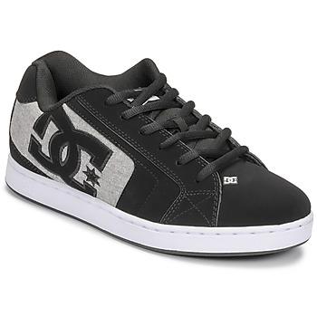 Topánky Muži Skate obuv DC Shoes NET Čierna / Šedá