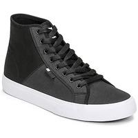 Topánky Muži Členkové tenisky DC Shoes MANUAL HI TXSE Čierna / Biela
