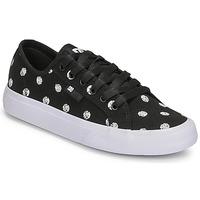 Topánky Ženy Nízke tenisky DC Shoes MANUAL TXSE Čierna / Biela