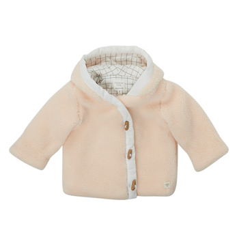 Oblečenie Chlapci Kabáty Carrément Beau AMARANTE Biela