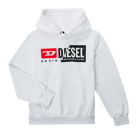 Oblečenie Deti Mikiny Diesel SGIRKHOODCUTYX OVER Biela
