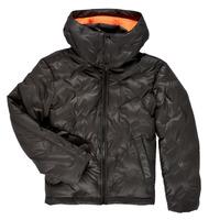 Oblečenie Chlapci Vyteplené bundy Diesel JTHERMO Čierna