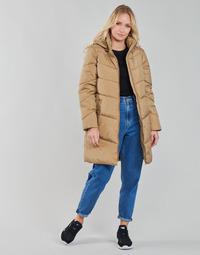 Oblečenie Ženy Kabáty Vila VIADAYA Ťavia hnedá