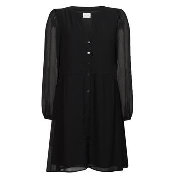 Oblečenie Ženy Krátke šaty Vila VIAMIONE Čierna