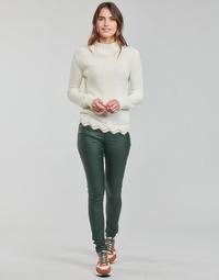 Oblečenie Ženy Nohavice päťvreckové Vila VICOMMIT Šedá