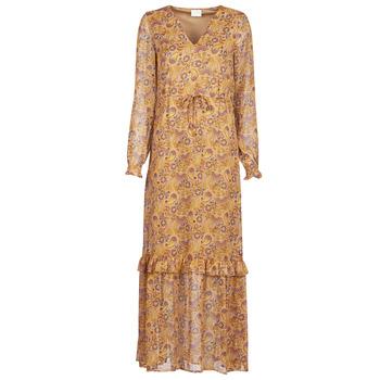 Oblečenie Ženy Dlhé šaty Vila VIFALIA Koňaková