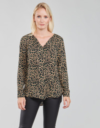 Oblečenie Ženy Blúzky Vila VILUCY Hnedá