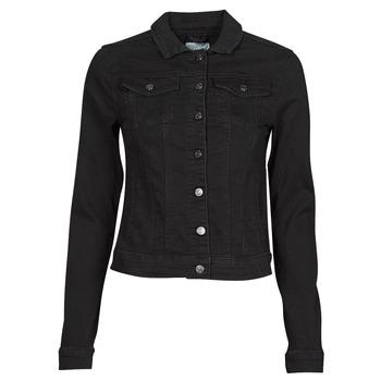 Oblečenie Ženy Džínsové bundy Vila VISHOW Čierna