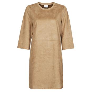 Oblečenie Ženy Krátke šaty Vila VISUDA Hnedá
